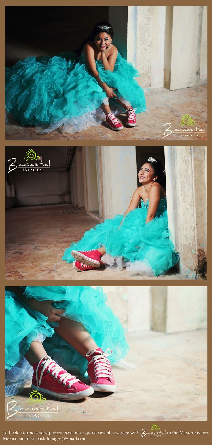 A fun and modern twist to a traditional sweet 16 portrait session!