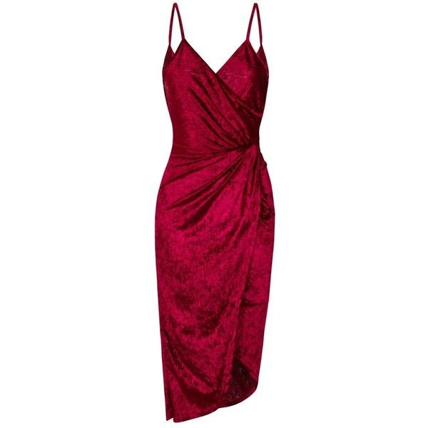 WALG CRUSHED VELVET KNOT TIE DRAPE BACK DRESS | WALG DRESS (2.765 RUB) ❤ liked on Polyvore featuring dresses, tie knot dress, knot dresses, walg, tie dress and purple dresses
