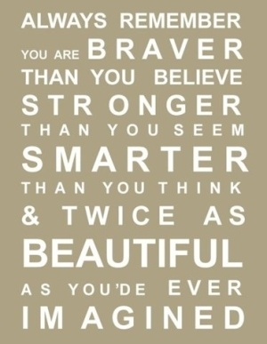 LOVE this!!!Words Of Wisdom, Encouragement, Remember This, Inspiration, Motivation Quotes, Girls Room, Daughters, Winniethepooh, Winnie The Pooh