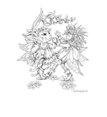 enchanted designs fairy mermaid blog free fairy coloring pages by jody bergsma