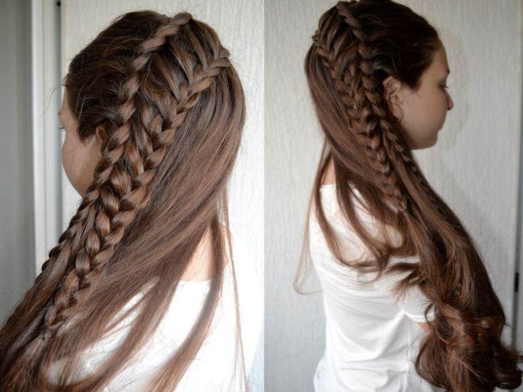 78 best images about peinados trenzados on pinterest - Peinados faciles paso a paso ...