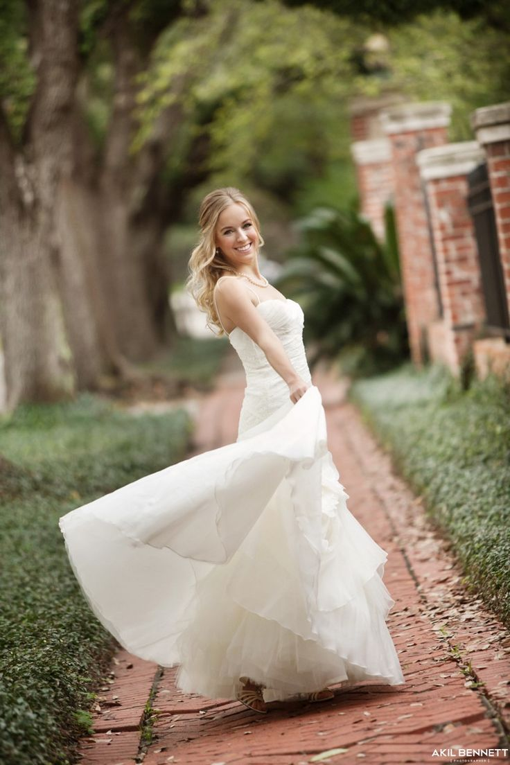 Outdoor Bridal Portraits in Houston Tx