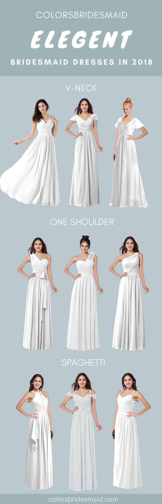 133 best Bridesmaid Dresses images by ColorsBridesmaid on Pinterest