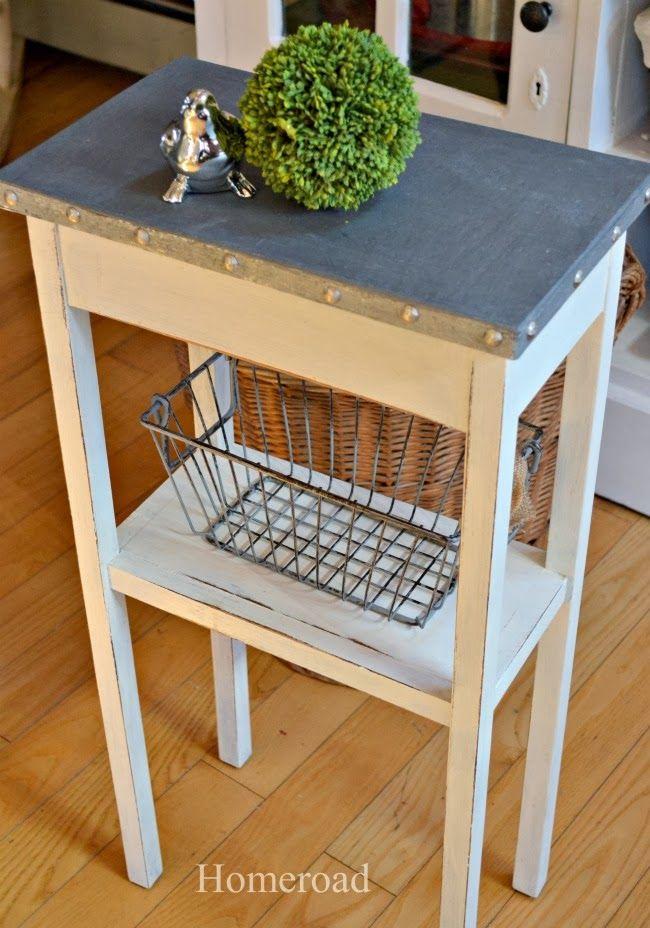 17 mejores ideas sobre mesas de cocina con efecto envejecido en ...
