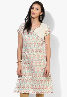 Off White Printed Kurta Your savoir faire will be highlighted when you wear this kurta, in off-white from the house of Melange by Lifestyle. Designed to absolute perfection, this polycotton kurtawill be soft against your skin and keep you at ease. A dupatta and salwar will further accentuate your ethnic look. http://jbo.ng/VfVysCi