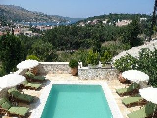 Deluxe 5* villa with panoramic views. Prime private location in Kassiopi   Holiday Rental in Kassiopi from @HomeAwayUK #holiday #rental #travel #homeaway