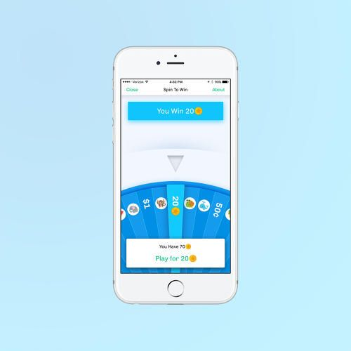 The app rewards users who deposit money into a free Long Game savings account.