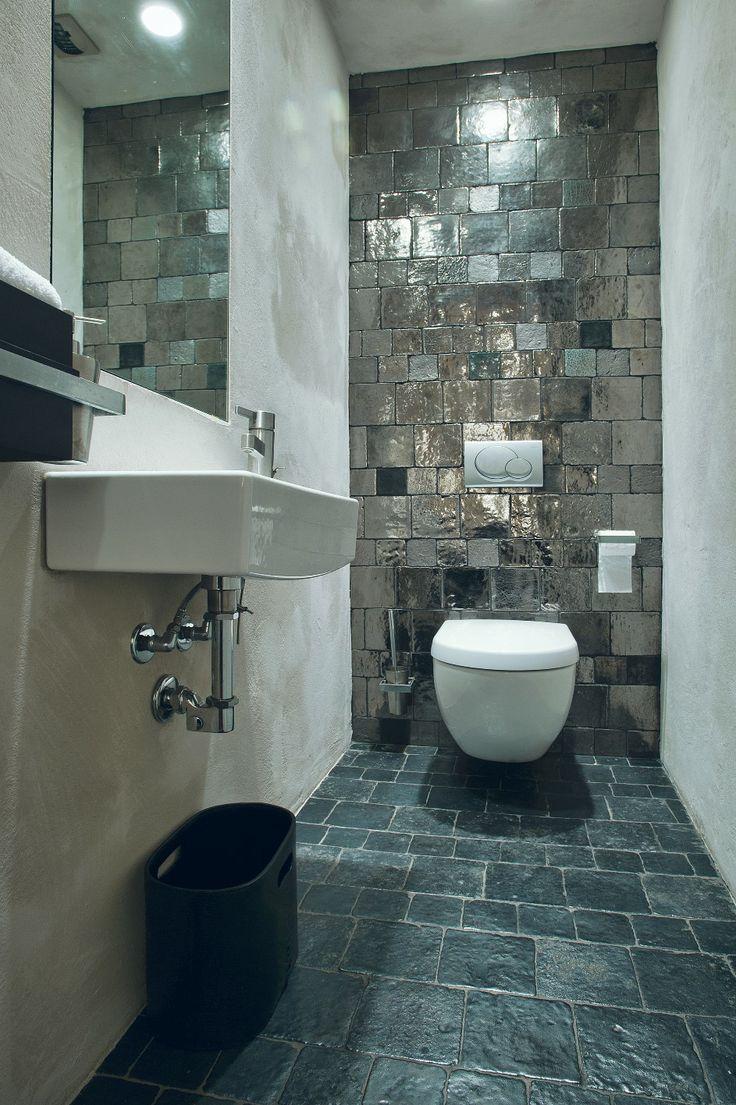 vloertegels toilet cotto artistico del Mugello Antracite