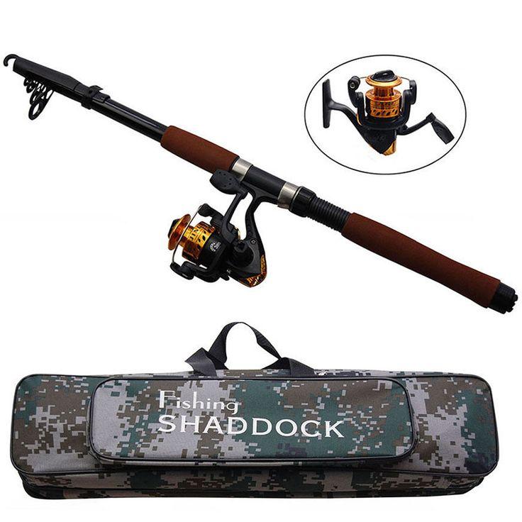 $28.99 (Buy here: https://alitems.com/g/1e8d114494ebda23ff8b16525dc3e8/?i=5&ulp=https%3A%2F%2Fwww.aliexpress.com%2Fitem%2F2-4m-Fiberglass-Telescope-Baitcasting-Fishing-Rod-And-Reel-Fly-Fishing-Casting-Spinning-Fishing-Rods-And%2F32702811346.html ) 2.4m Fiberglass Telescope Baitcasting Fishing Rod And Reel Fly Fishing Casting Spinning Fishing Rods And Waterproof Bag Combo for just $28.99