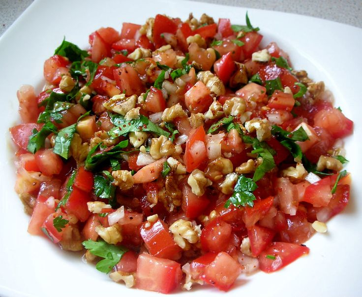 ramazan iftar menüsü, cevizli gavurdağı salatası tarifi ...