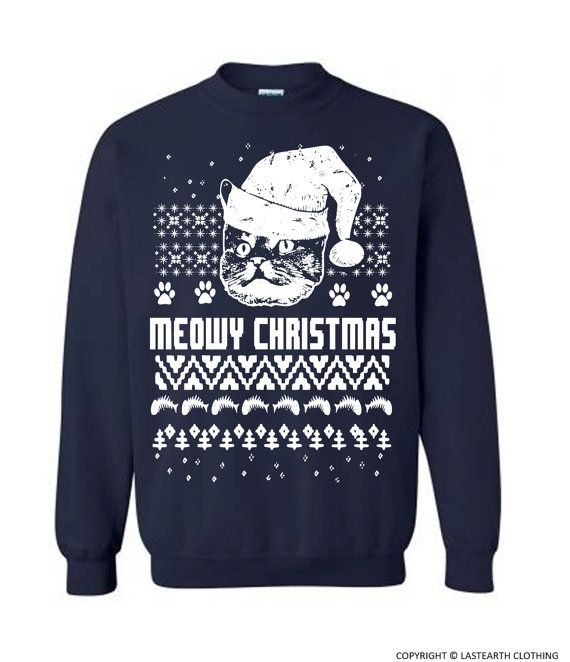 Christmas Cat Sweater. The newest edition to our Christmas Sweater line. Design…