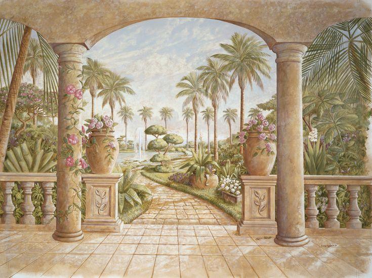 Canvas Murals   Gordon Meggison