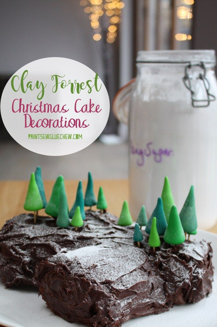 Christmas Cake Decorations – Clay Forest