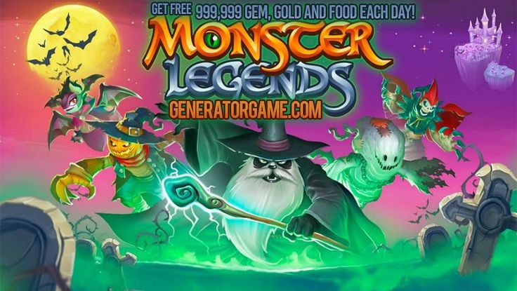 """[NEW] MONSTER LEGENDS ONLINE HACK WORKS 2015: www.monsterlegends.tk  and Get Free 999999 Gem Gold and Food each day: www.monsterlegends.tk  No more lies! This method 100% works for real: www.monsterlegends.tk  Please SHARE this real hack online guys: www.monsterlegends.tk  HOW TO USE:  1. Go to >>> www.monsterlegends.tk  2. Enter your Monster Legends Username/ID or Email Address (You don't need to type your password)  3. Enter the amount of Gem Gold and Food then click """"Generate""""  4. Finish…"""