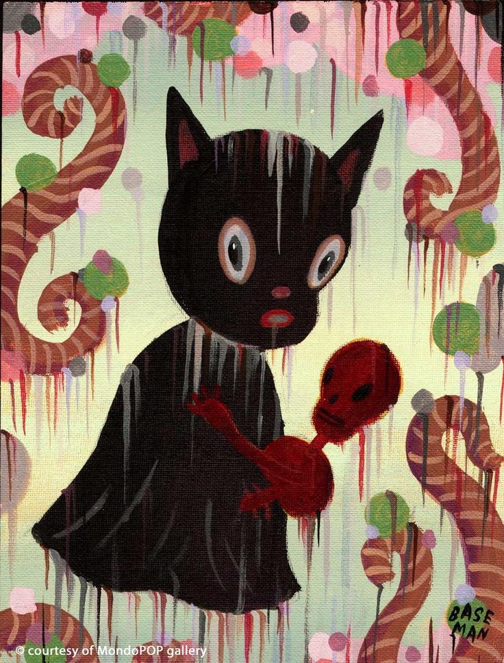 GARY BASEMENT sarà in esposizione dal 17 marzo al 14 aprile alla MondoPOP International Gallery di Roma. Nuove opere e disegni dell'artista di Los Angeles sono in arrivo a celebrare uno dei fondatori del Pop Surrealismo