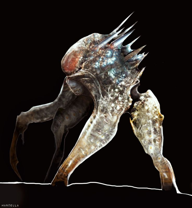 Rejected Edge Of Tomorrow Alien Designs Include Some Nightmare Fuel