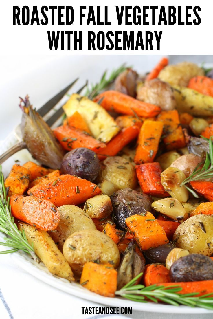 Super Easy Roasted Fall Vegetables With Rosemary The 400 x 300