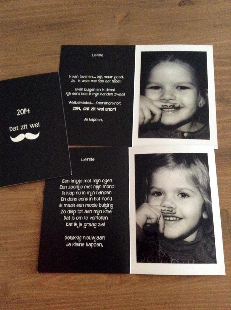 De zeppelin nieuwjaarsbrief zat zeker snor :)