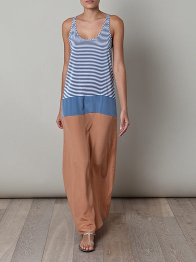 Richard Nicoll  Silk full-length dress