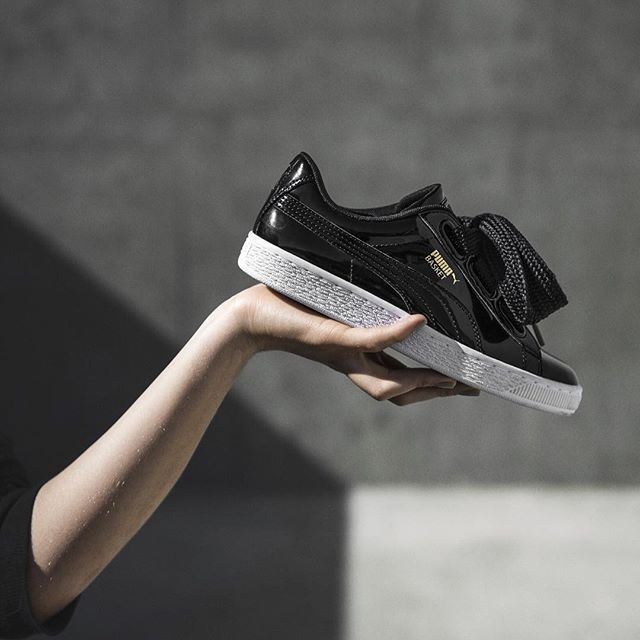 Discover new season styles by @puma 😍Shop the new @puma Basket Heart available now over on FLANNELS.com #PUMA #DOYOU  #FLANNELS #FLANNELSWOMAN #STYLE #STYLEGRAM #PUMABASKETHEART #BASKETHEART #TRAINERS #SNEAKERS #NEWARRIVALS #AW16
