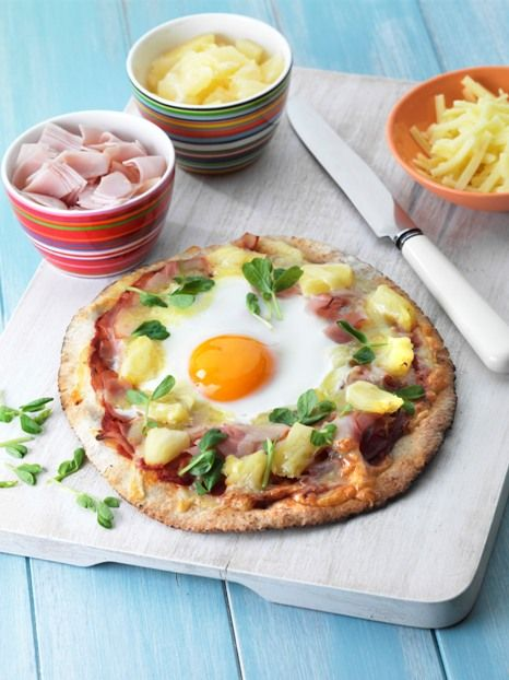 Cooking with kids? Try Egg Pita Pizzas - Farm Pride