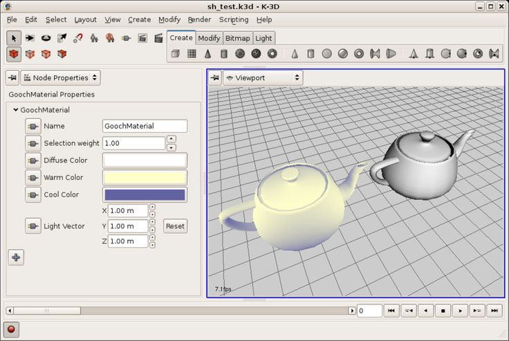 K-3D is free-as-in-freedom 3D modeling and animation software. It features a plugin-oriented procedural engine for all of its content, making K-3D a very versatile and powerful package. K-3D excels at polygonal modeling, and includes basic tools for NURBS, patches, curves and animation. Give it a try! K-3D features a robust, object-oriented plugin architecture, designed to …
