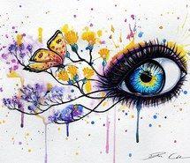 Картинки природы с глазами