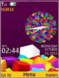 Colorful Squares Theme for Nokia X2, C2-01, 2700 & 240×320 2700 classic,2720 Fold ,2730 Classic ,3600 Slide ,3600 Slide ,3610 Fold ,3720 Classic ,5000 ,5130 Xpress Music ,5132 XpressMusic ,5220 Xpress Music ,5300,5310Xpress Music ,5330 Xpress Music ,X2 ,X3,Asha 300,Asha 203, Asha 202.Nokia 206,5610 Xpress Music, 6300 ,6300i ,6301,6303, 6303i, 6500 Classic ,6500 Slide ,6555,6600 Fold ,6600i
