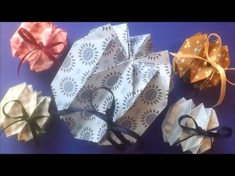 Origami Rosette packet
