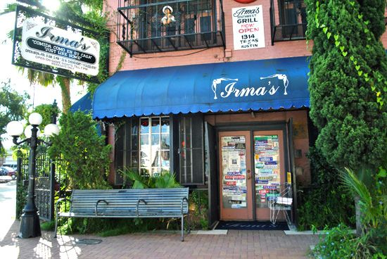 A Houston landmark. Savor the irrepressible Irma Galvan's burgeoning decor, politically wired clientele and enormously comforting mom-food: landmark cheese enchiladas, real mole, chiles rellenos and pork ribs in home-style tomatillo sauce. Don't miss Irma's lemonade (Houston, TX)