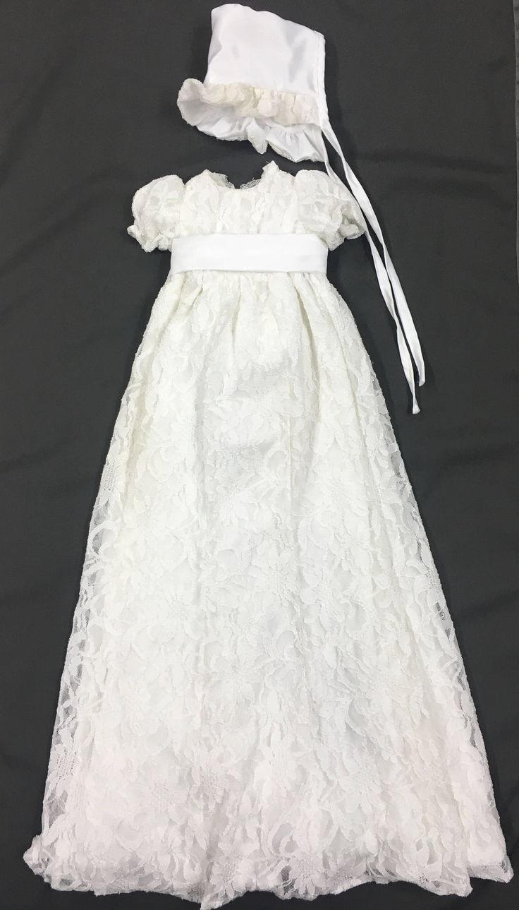 31 best Christening Gowns From Wedding Dresses images on Pinterest ...