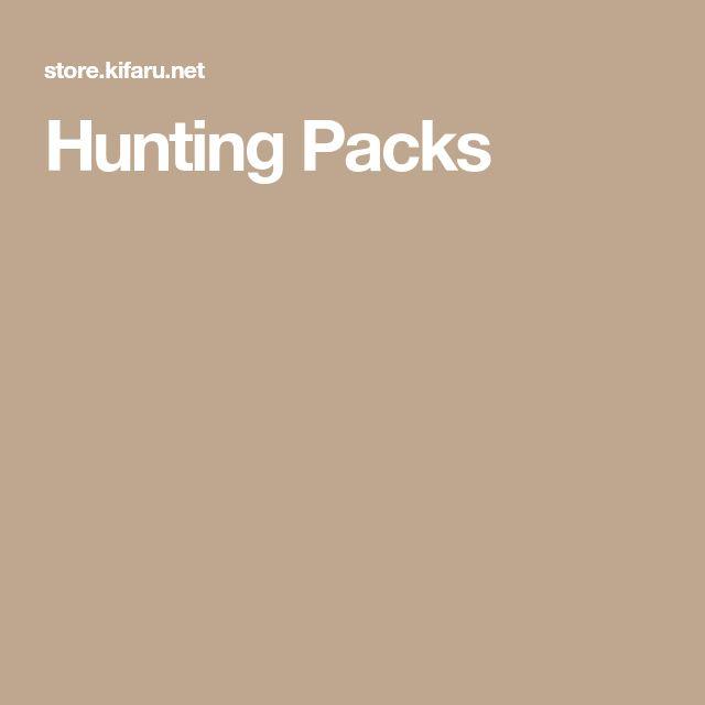 Hunting Packs