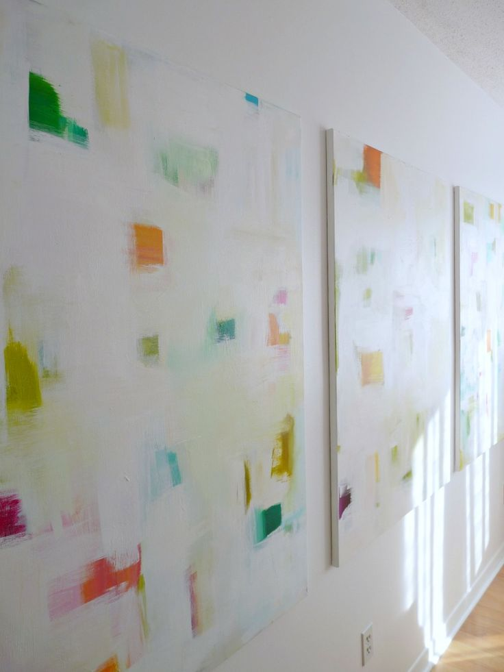 Diy wall art my favorite kind seriously considering for Diy abstract wall art