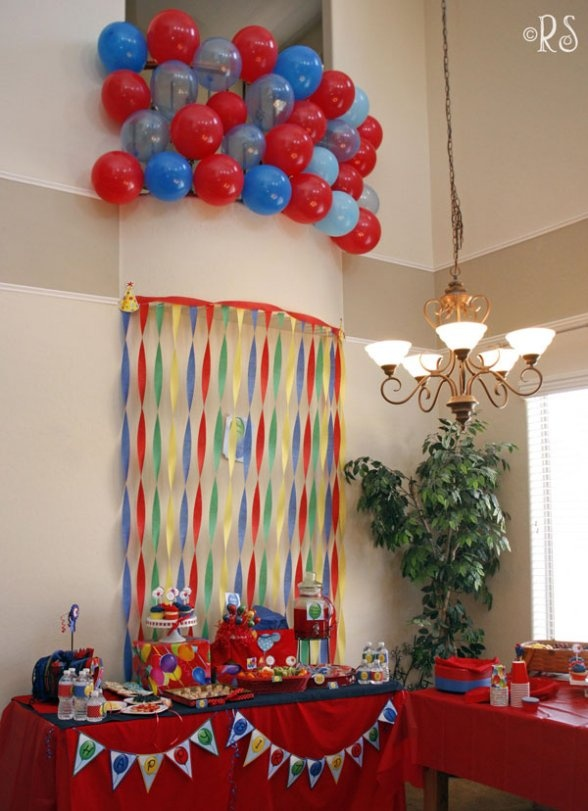 Party Decorating Ideas With Streamers 58 best decorations for birthday party images on pinterest | paper