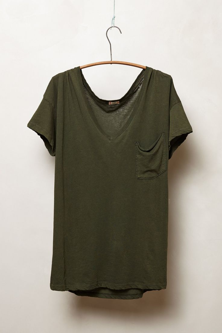 Boyfriend V-Neck Tee - Anthropologie.com