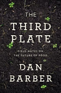 """Barber explores the evolution of American food from the """"first plate, """" or industrially-produced, meat-heavy dishes, to the """"second plate"""" of grass-fed meat and organic greens, and says that both of these approaches are ultimately neither sustainable nor healthy. Instead, Barber proposes Americans should move to the """"third plate, """" a cuisine rooted in seasonal productivity, natural livestock rhythms, whole-grains, and small portions of free-range meat."""