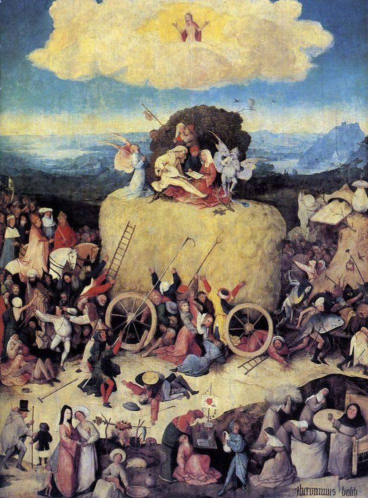 Hieronymus Bosch 074 - Champignon — Wikipédia Dans Le Chariot de foin de Jérôme Bosch, un bolet Satan géant garde l'entrée de la grotte du diable.