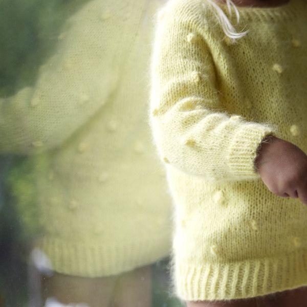 Popcorn genser / popcorn sweater (norwegian and english version) – paelas