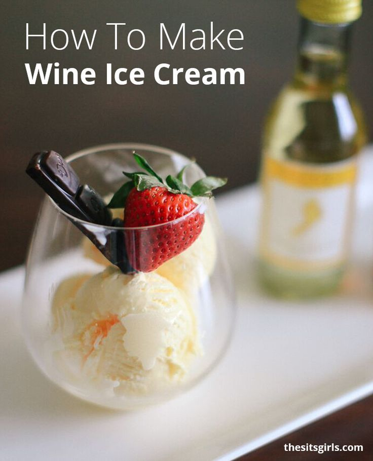 25 best ideas about wine ice cream on pinterest red wine wine recipes and ice cream popsicle - Make good house wine tips vinter ...