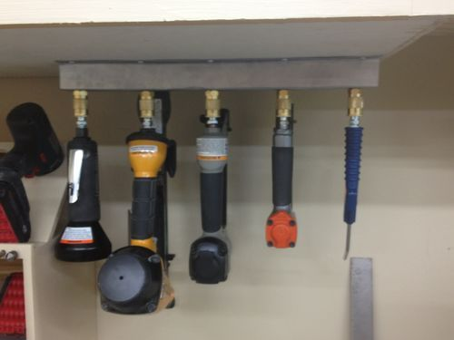 pneumatic nailer storage - by Eric @ LumberJocks.com ~ woodworking community