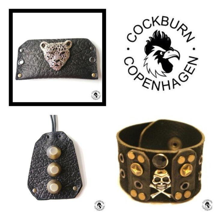 Super cool handmade accessories: www.cockburncopenhagen.com