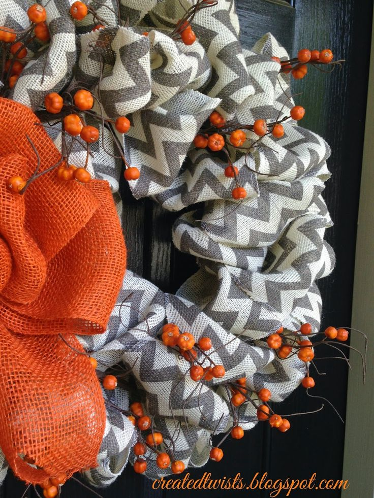 ~~~~~~~~~Created Twists: Fall Wreaths