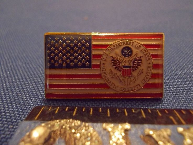 2016 Rio Olympic Security Pin US Dept of State Diplomatic Security Service Rare