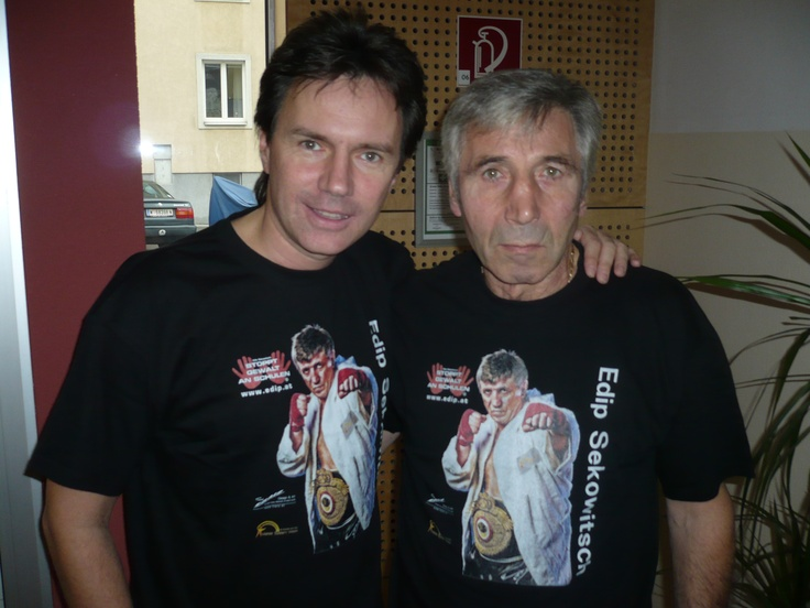 "Kurt Elsasser mit Hans"" Orsolics"