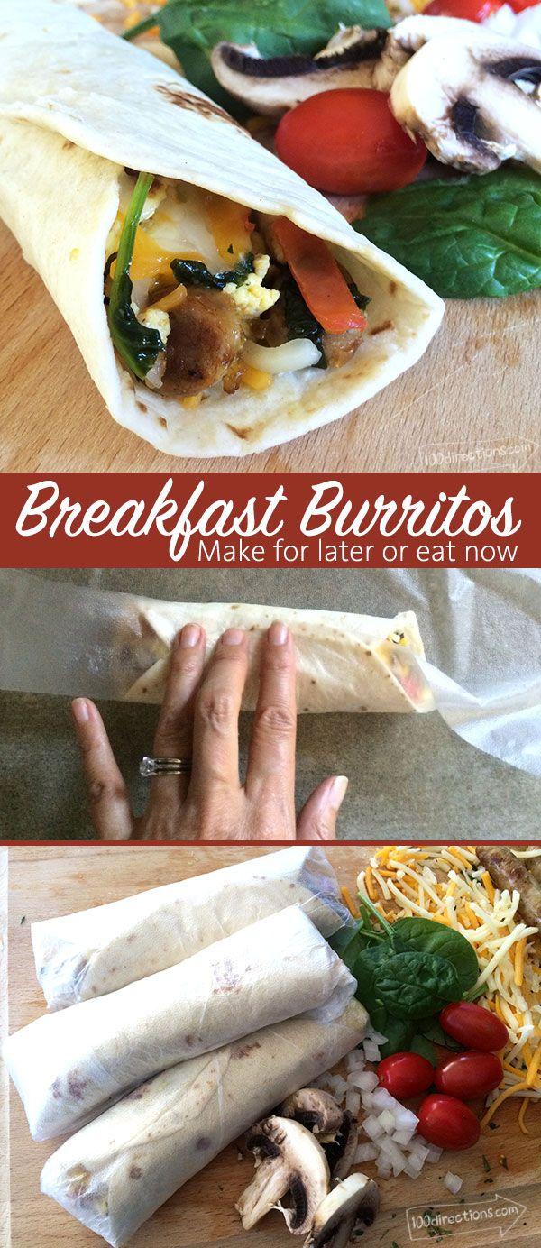 Quick Breakfast Burrito Recipe