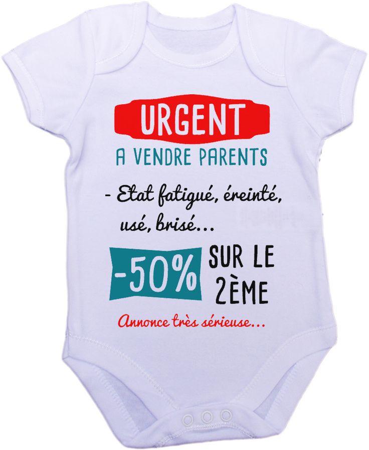 Body grenouillère a vendre parents dans un état... : Mode Bébé par creatike