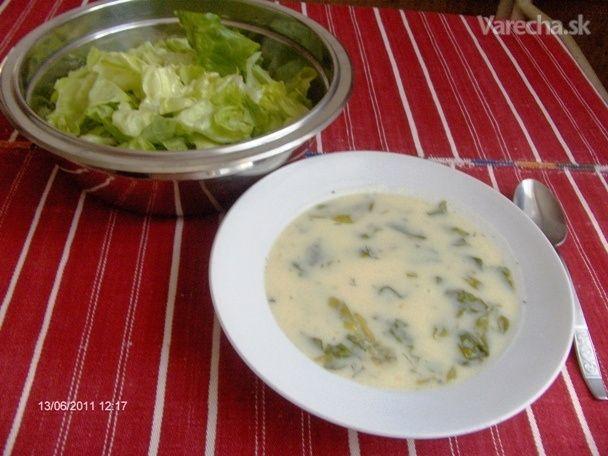 Letná šalátová polievka (fotorecept)