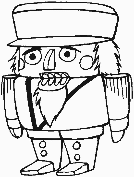 Nutcracker | Christmas coloring pages, Fairy coloring ...