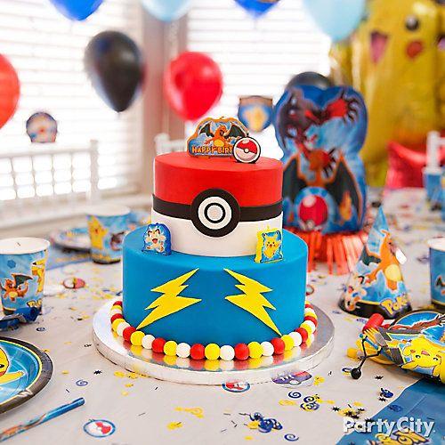 Be a Pokemon cake master!