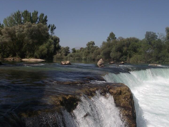 Manavgat waterfall, Side, Turkey